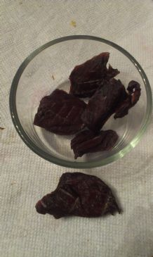 Simple Allergy Friendly Jerky