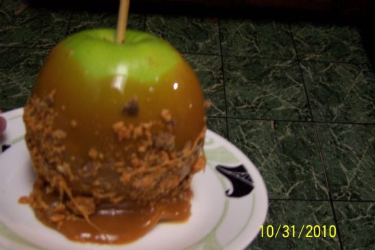 Caramel Apple w/Butterfinger