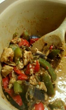 Microwave Chicken Fajitas