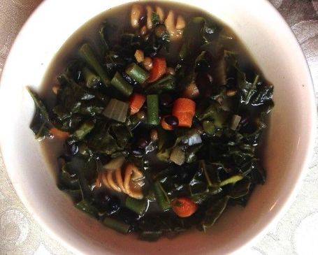 Black Bean Vegetable Soup