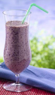 Delicious Blueberries Banana Smoothie