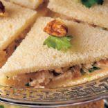 Chicken & Chutney Tea Sandwiches