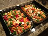 Vegetables, Oven Roasted w/ Balsamic Vinegar (6.5 oz or 184 g serving;)