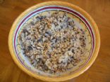 Brown and Wild Rice Pilaf with Pine Nuts