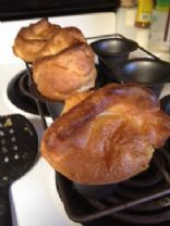 Popovers - Whole Wheat