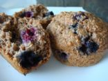 Low Fat Blueberry Bran Muffins (by TSMOTIVATION)