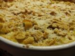 Chicken Alfredo & Brown Minute Rice Casserole