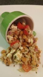 Pesto Lentil Salad