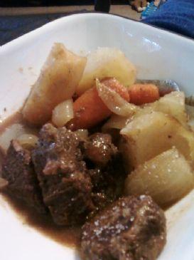 Jaynee's Hearty beef stew
