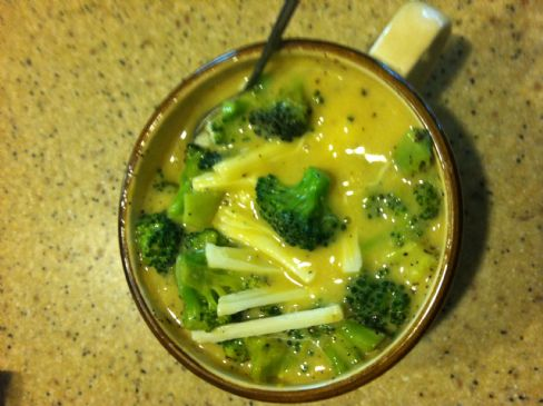 Mar's Light & Quick Broccoli Cheddar Soup