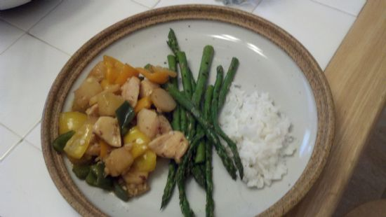 Thai Chicken with Pineapple