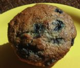 Sour Cream Muffins with Blueberries