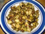 Italian-Inspired Oven-Roasted Brussels Sprouts