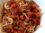 Quick Veggie Pasta Sauce (Vegan)