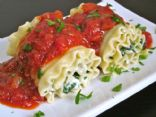 Turkey & Spinach Lasagna roll ups (Seymour)