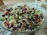 Tuna, Bean, and Couscous salad