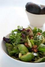 Big-ass avocado & almond salad