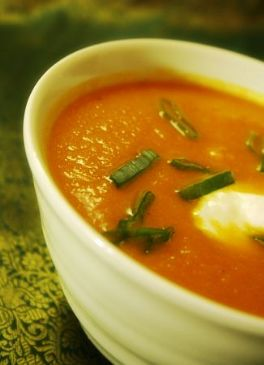 Weelicious Spiced Carrot & Cauliflower Soup