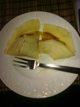 Easy Apple Crepe