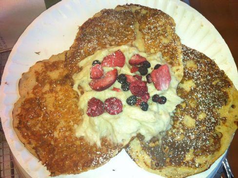 Berry Pie Protein Pancakes