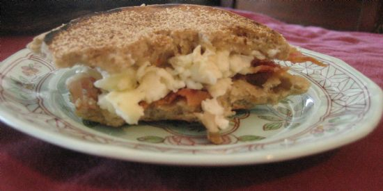 Almost a Subway Egg White Muffin Melt!