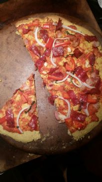 Plantain Pizza Crust