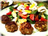 Asian Inspired Turkey Meatballs