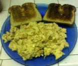Scrambled egg whites with Oatnut toast **High Protein/ Low Fat