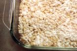 Microwave Rice Crispy treats