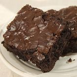 Low Fat Fudge Brownies