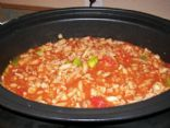 Tasty Turkey Crockpot Chili