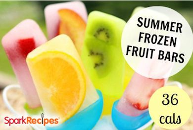 Summer Frozen Fruit Pops RECIPE
