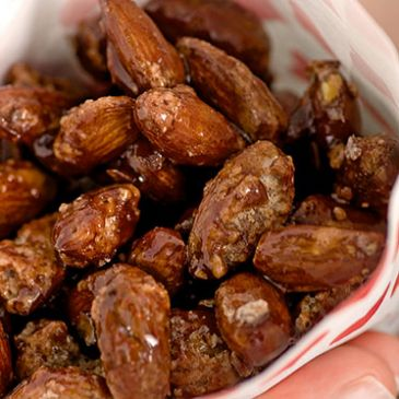 Sugar Roasted Almonds  ( Gebrannte Mandeln)