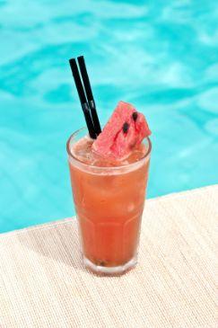 Watermelon & lime juice