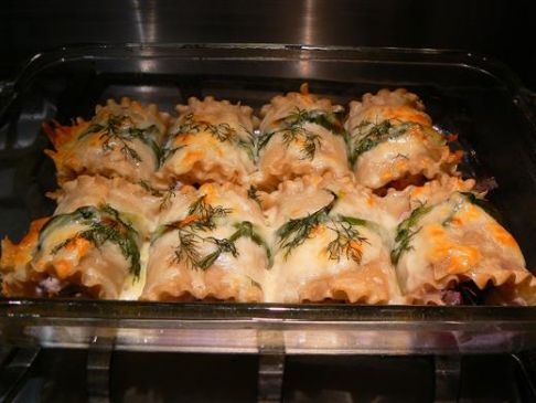 Eat Clean Baked Manicotti Bundles Stuffed With Tilapia And