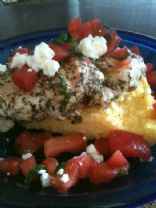 Basil Chicken and Tomato Concasse