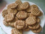 Auntie Carolyn's Peanut Butter cookies