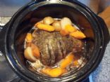 Leg of Lamb (slow cooker)