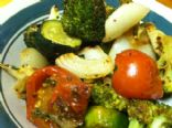 Roasted Garden Veggies