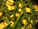 Sesame Tofu and Asparagus Salad