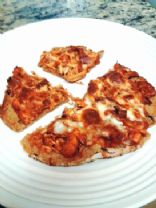Trader Joe's Pulled BBQ Chicken Mini Pizzas