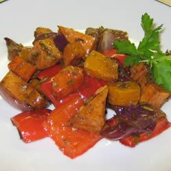 Basalmic Roasted Vegetables