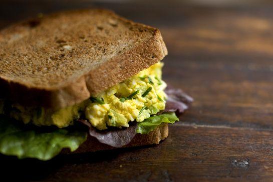 My Egg Salad Sandwich