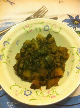 Beef and Green Peas Keema (crockpot)
