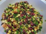 No-Cook Colourful Bean Salad