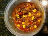 Turkey Enchilada Soup - Crockpot