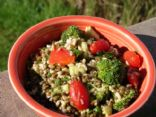 Vegan Lentil Veggie Salad