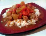 Sweet and Sour Crockpot Pork Tenderloin