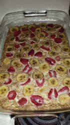 Berry Banana Coconut Oatmeal Breakfast Bars