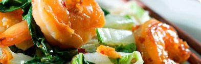 Pan Asian Shrimp